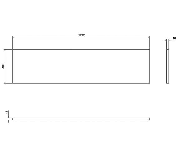 Technical drawing QS-V17478 / AT33W