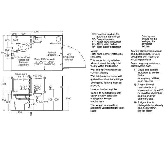 Technical drawing QS-V89299 / S0684AC