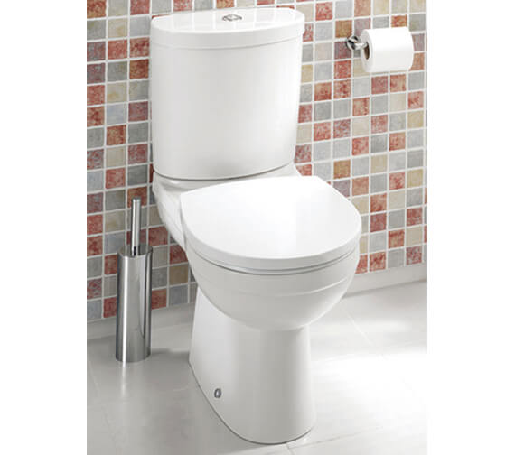 Silverdale Thames Closed Coupled Toilet With Soft Close Seat