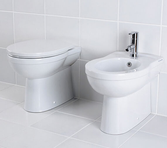 Silverdale Thames Back To Wall Toilet With Soft Close Seat