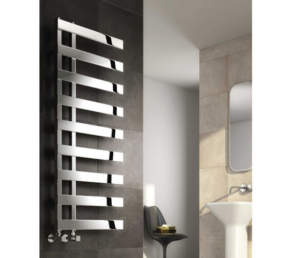 Reina Capelli 500mm Wide Polished Designer Radiator