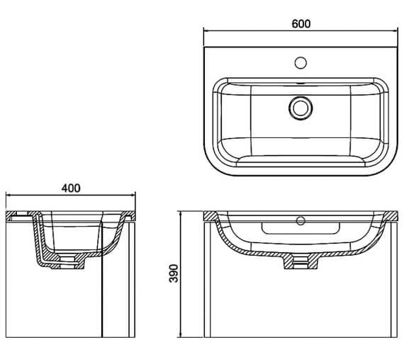 Technical drawing QS-V17519 / ACM3W