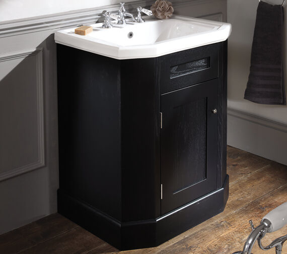 Silverdale Empire 700mm Cabinet And White Inset Basin