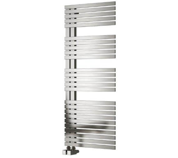 Reina Entice 500mm Wide Stainless Steel Designer Radiator - Available 770 - 1200 - 1700mm Heights