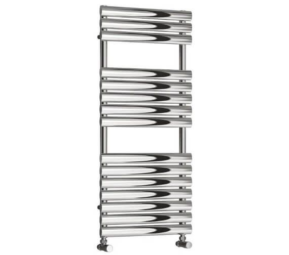 Reina Helin 500 x 826mm Stainless Steel Designer Radiator - More Height Sizes Available