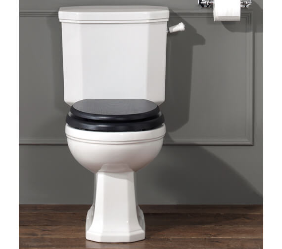 Silverdale Empire Close Coupled WC Pan And Cistern