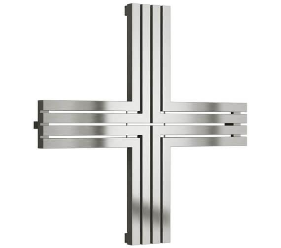 Reina Pozitive 1000 x 1000mm Stainless Steel Designer Radiator