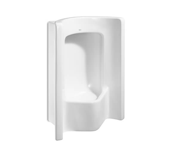Roca Site Frontal Exposed Urinal With Top Inlet 490 x 295mm