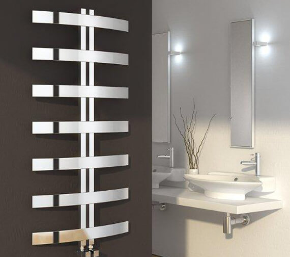 Reina Riesi 600 x 1200mm Stainless Steel Designer Radiator