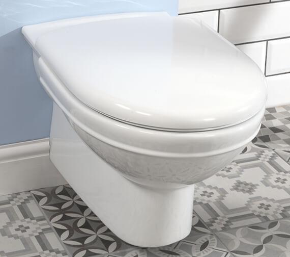 Silverdale Damea Wall Mounted WC Pan