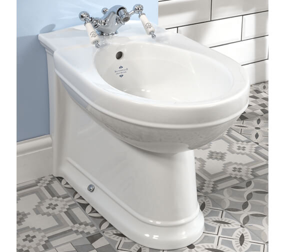 Silverdale Damea Back To Wall 1 Taphole Bidet