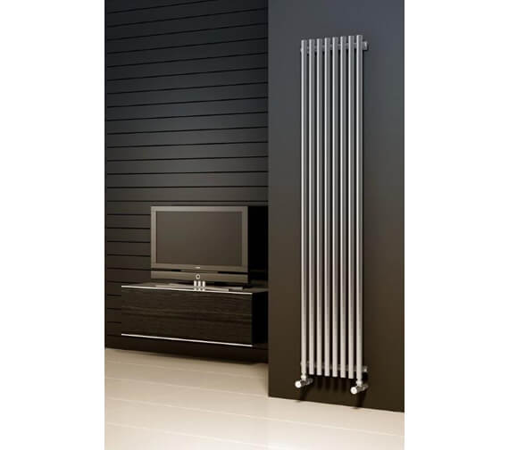 Reina Orthia 1800mm High Designer Vertical Radiator Polished