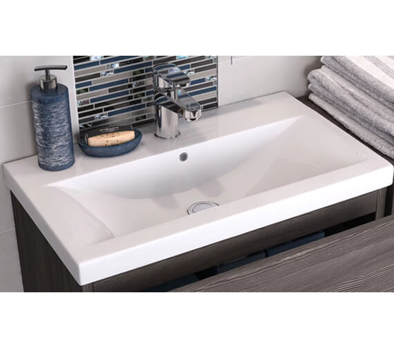 Additional image of Hudson Reed Sarenna 712 x 504mm Wall Hung Cabinet And Basin