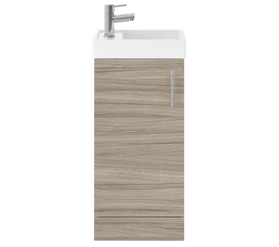 Additional image of Lauren Vault 400mm Single Door Floor Standing Unit With Basin