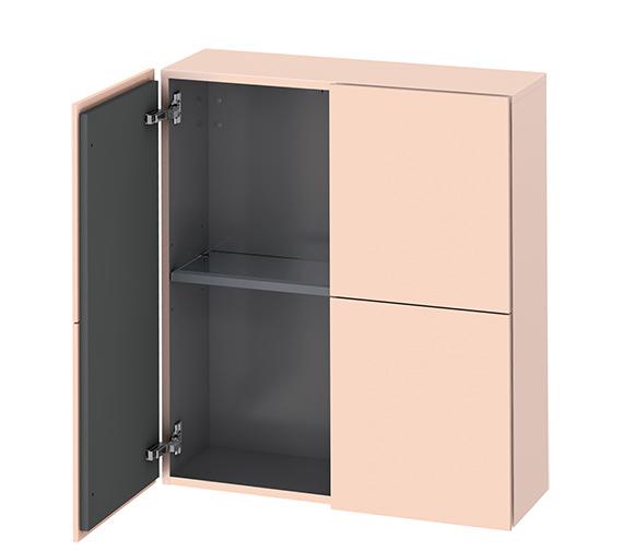 Alternate image of Duravit L-Cube 700 x 243mm White Matt Semi-Tall Cabinet