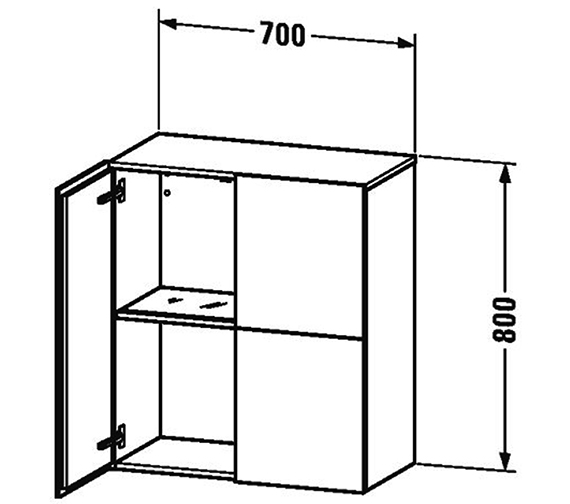 Technical drawing QS-V63420 / LC117701818