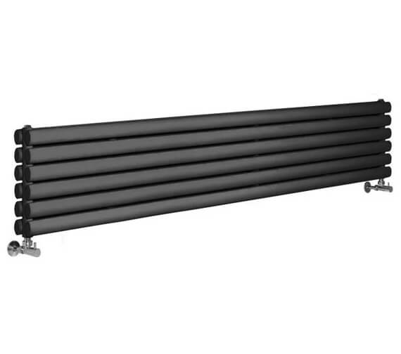 Hudson Reed Revive 1500 x 354mm Anthracite Double Panel Horizontal Radiator