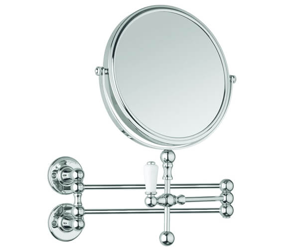 Burlington Cosmetic Wall Mirror Chrome