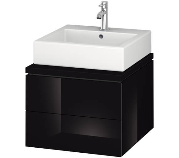 Alternate image of Duravit L-Cube 520mm Double Drawer Wall Hung Vanity Unit For Console