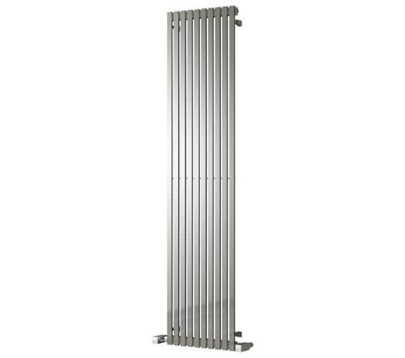Reina Xeina 245 x 2000mm Stainless Steel Designer Radiator - More Width Sizes Available