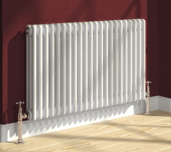 Reina Colona 600mm High Horizontal 2 Column Radiator