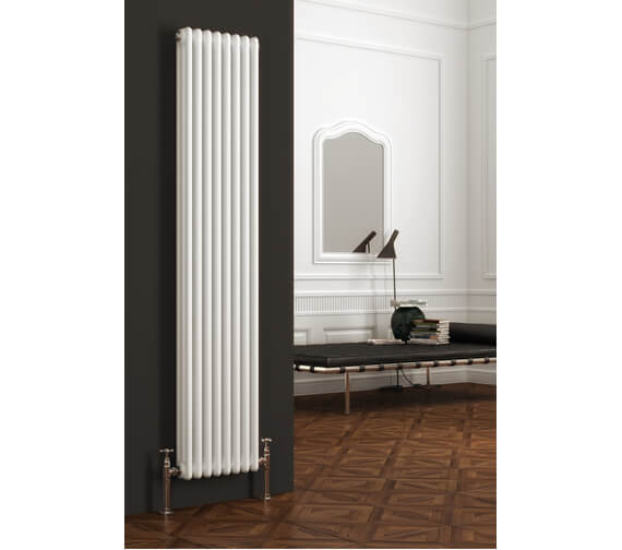 Reina Colona 1800mm High Vertical 3 Column Radiator - 3/C184