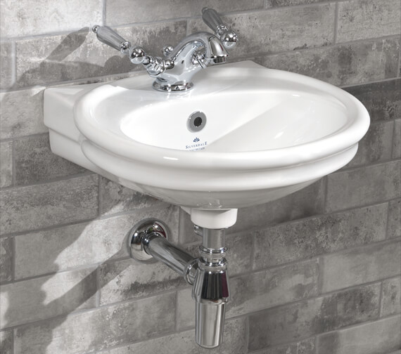 Silverdale Hillingdon 1 Taphole Cloakroom Basin