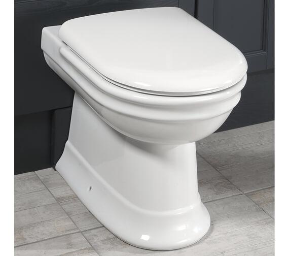 Silverdale Hillingdon Back To Wall WC Pan