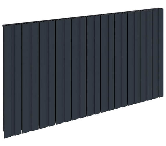 Alternate image of Reina Bova 600mm High Single Panel Aluminium Horizontal Radiator