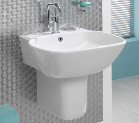 Silverdale Ascot 550mm Basin White