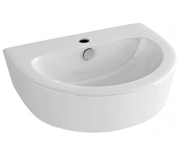 Pura Arco 550mm Basin With 1 Tap Hole