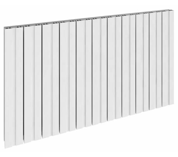 Reina Bova 600mm High Single Panel Aluminium Horizontal Radiator