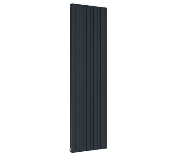 Alternate image of Reina Bova 280 x 1800mm White Double Panel Vertical Aluminium Radiator