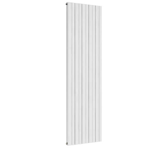 Reina Bova 280 x 1800mm White Double Panel Vertical Aluminium Radiator