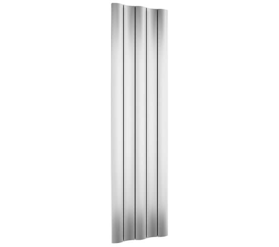 Alternate image of Reina Gio 1800mm High Single Panel Vertical Aluminium Radiator Anthracite