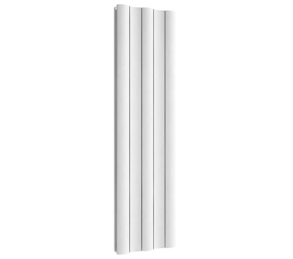 Additional image of Reina Gio 280 x 1800mm High Double Panel Vertical Aluminium Radiator Anthracite