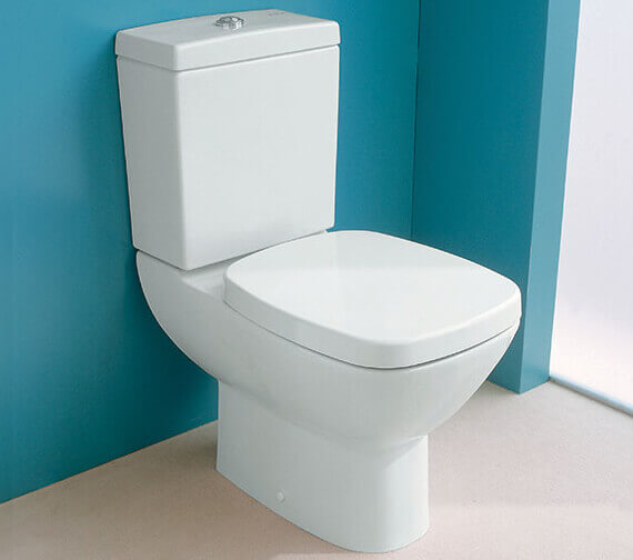 Silverdale Ascot Close Coupled Pan With Cistern And Soft Close Seat