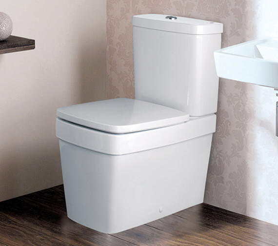 Silverdale Henley Close Coupled Toilet With Soft Close Seat