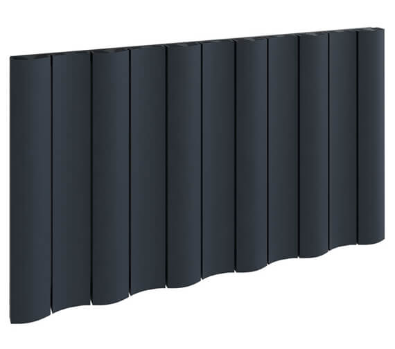Additional image of Reina Gio 600mm High Single Panel Horizontal Aluminium Radiator