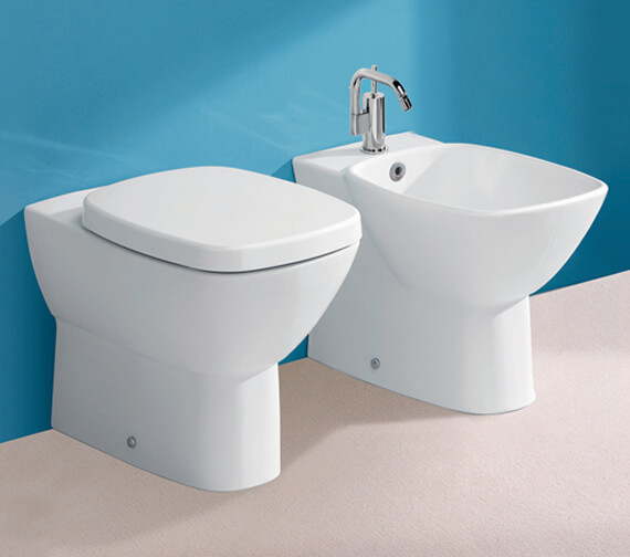 Silverdale Ascot 1 Tap Hole Back to Wall Bidet