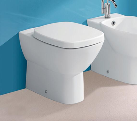 Silverdale Ascot Back To Wall WC Pan