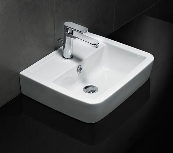 Silverdale Henley 450 x 370mm 1 Tap Hole Countertop Basin