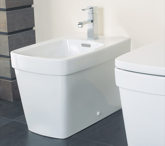 Silverdale Henley 1 Tap Hole Back To Wall Bidet