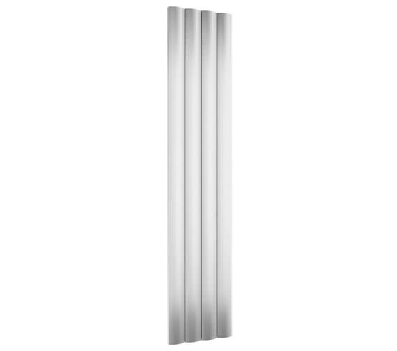 Reina Greco 280 x 1800mm Polished Single Panel Vertical Aluminium Radiator - More Width Sizes Available