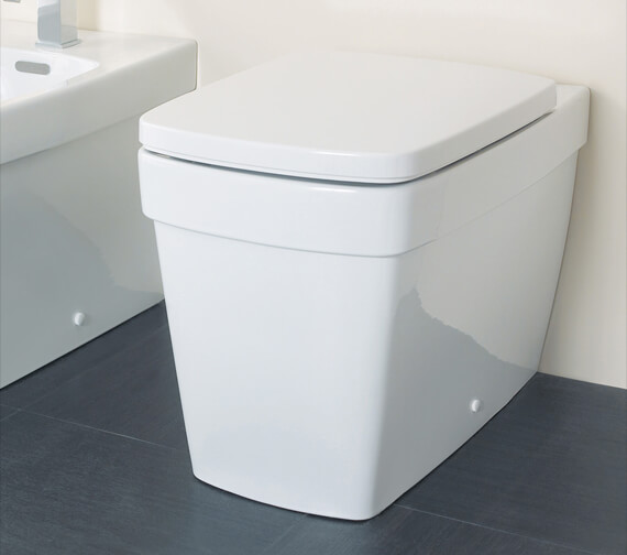 Silverdale Henley Back To Wall WC Pan
