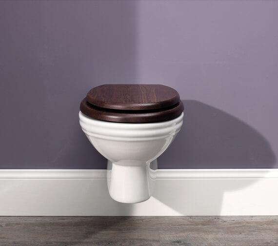 Silverdale Balasani Wall Mounted WC Pan White