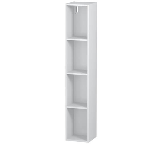 Duravit L-Cube 180 x 1000mm Vertical 4 Compartments Shelf Element