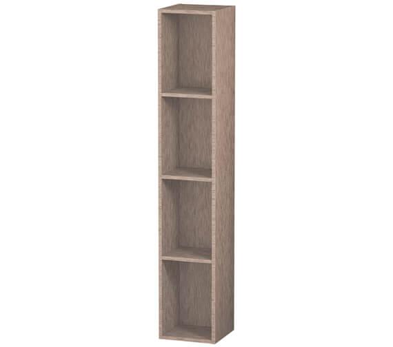 Alternate image of Duravit L-Cube 180 x 1000mm Vertical 4 Compartments Shelf Element