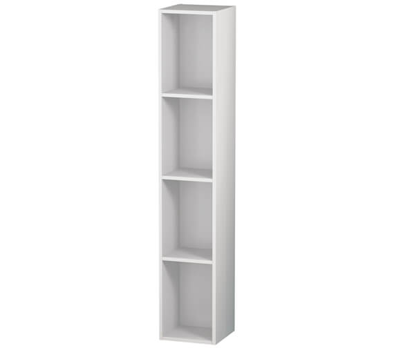 Alternate image of Duravit L-Cube 180 x 1000mm Vertical 4 Compartments Shelf Element