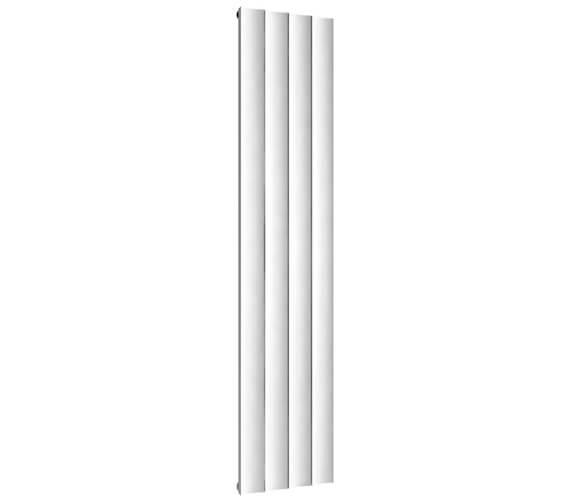 Additional image of Reina Luca 1800mm High Single Panel Vertical Aluminium Radiator
